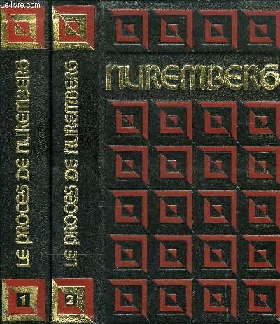 LE PROCES DE NUREMBERG TOME 1 ET 2