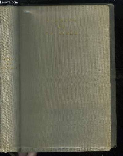 SAGESSE DE LA BIBLE