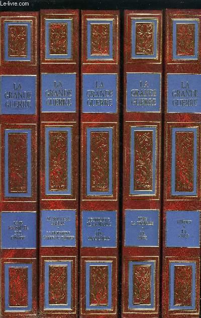 LA GRANDE GUERRE - 14-18 RACONTEE PAR L'IMAGE - LE MIRACLE DE LA MARNE; LES TRANCHEES - VERDUN; LA CRISE - DU NOUVEAU A L'EST; LA DERNIERE CARTE DU KAISER - VERS LA VICTOIRE; LA PAIX