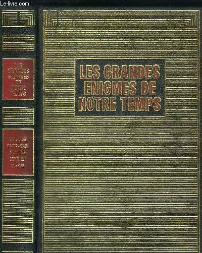 LES GRANDES ENIGMES DE NOTRE TEMPS - DREYFUS, MATA-HARI, STALINE, MUNICH, DIEPPE