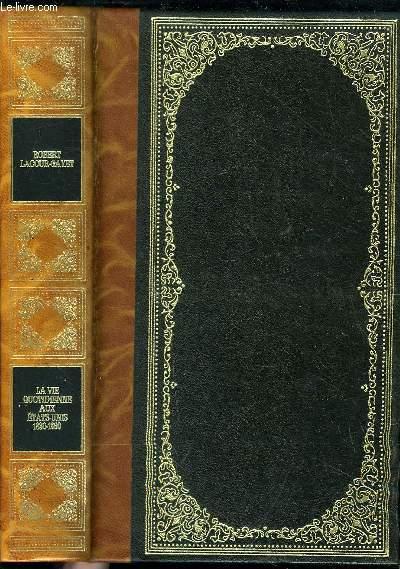 LA VIE QUOTIDIENNE AUX ETATS-UNIS 1830-1860