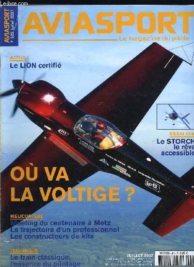 AVIASPORT N° 628 - Michel Colomban dévoile la Luciole, Des liens a renouer avec le grand public, Chaque vol est une aventure, certains plus que d'autres, Sur toutes les facettes de l'aviation générale et sportive, Succès pour la première de Vatry