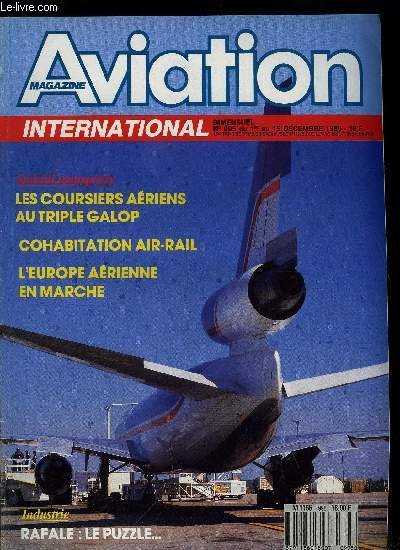 AVIATION MAGAZINE INTERNATIONAL N° 995 - Lancement de la famille MD-90, EMB-145 : première commande, TEA : un programme ambitieux, BDLI : la RFA veut sa part de prestige, Air France aborde le leasing, Bernard Lathière, président d'ADP