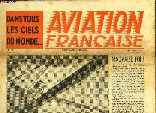 AVIATION FRANCAISE N° 40 - Le journal de marche du régiment Normandie-Niemen, L'hydravion du Sud-Est : le S.E. 200 et Jeunes Ailes