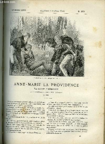 SUPPLEMENT A LA REVUE MAME N° 229 - Anne-Marie la providence (suite) par Daniel Laumonier, illustrations de Orazi