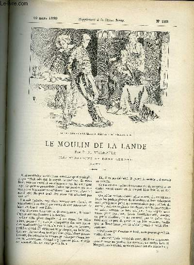 SUPPLEMENT A LA REVUE MAME N° 233 - Le moulin a la Lande (suite) IV. Malentendus par P.M. Vignault, illustrations de René Lelong
