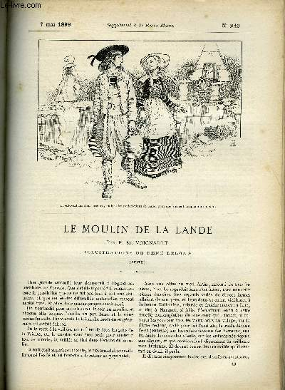 SUPPLEMENT A LA REVUE MAME N° 240 - Le moulin a la Lande (suite) XII. Les secrets de Janie par P.M. Vignault, illustrations de René Lelong