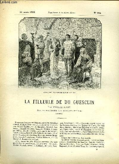 SUPPLEMENT A LA REVUE MAME N° 284 - La filleule de Du Guesclin (suite) par Pierre Mael, illustrations de Marcel Pille