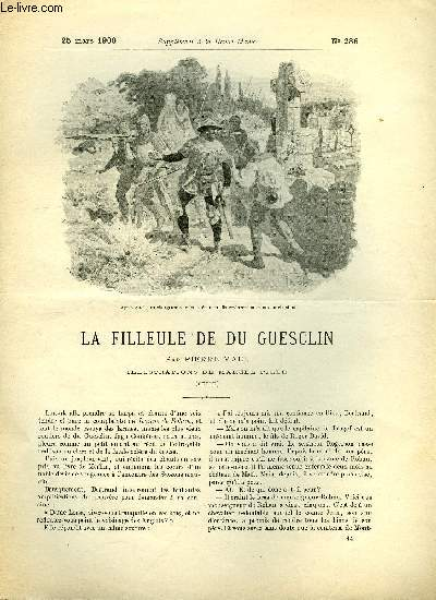 SUPPLEMENT A LA REVUE MAME N° 286 - La filleule de Du Guesclin (suite) II. La fée par Pierre Mael, illustrations de Marcel Pille