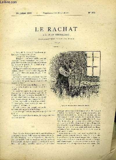 SUPPLEMENT A LA REVUE MAME N° 355 - Le rachat (suite) III. IV. par Jean Bertheroy, illustrations d'Alfred Paris