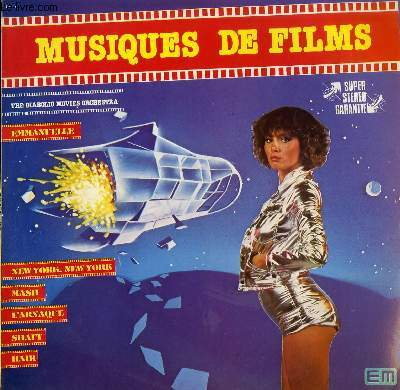 DISQUE VINYLE 33T MUSIQUES DE FILMS EMMANUELLE / NEW YORK NEW YORK / MASH / L'ARNAQUE / SHAFT / HAIR / BILLITIS / NIGHT FEVER / LOVE STORY / LE PARRAIN / LAST TANGO IN PARIS / LARA'S THEME.