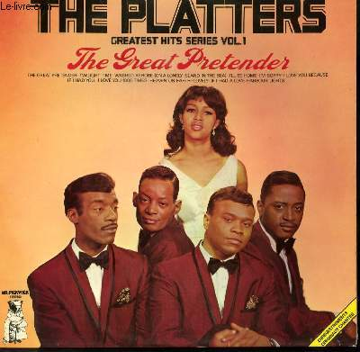 DISQUE VINYLE 33T GREATEST HITS VOL1 : THE GREAT PRENTENDER / TWILIGHT TIME / WASHED ASHORE / I'LL BE HOME / I LOVE YOU BECAUSE / HARBOUR LIGHTS / IF I HAD 1000 TIMES / HEAVEN OF HEARTS / LONELY / IF I HAD A LOVE.