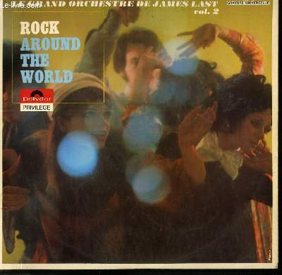 DISQUE VINYLE 33T ROCK AROUND THE WOLRD / ROCK AROUND THE CLOCK / BACK TO MEMPHIS / LADY MADONNA / SUMMERTIME BLUES / BLUEBERRY HILL....