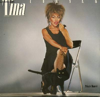 DISQUE VINYLE 33T  PRIVATE DANCER / WHAT'S LOVE GOT TI DO WITH IT / HELP / LET'S STAY TOGETHER / I CAN'T STAND THE RAIN / 1984...