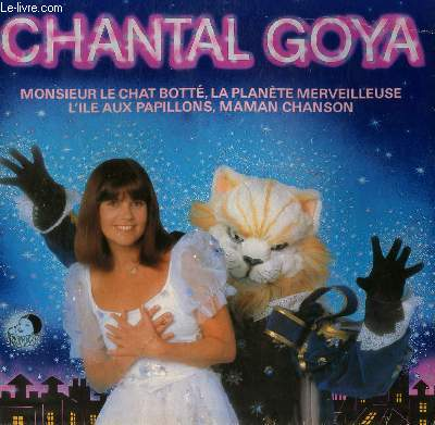 DISQUE VINYLE 33T   MR LE CHAT BOTTE / LA PLANETE MERVEILLEUSE / L'ÎLE AUX PAPILLONS / MAMAN CHANSON / MOLIERE / PARIS PARIS / AU REVOIR / LES PIERROTS DE PARIS...