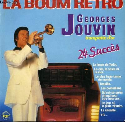 DISQUE VINYLE 33T LA BOUM RETRO 24 SUCCES A LA TROMPETTE / LA LECON DE TWIST / LE CIEL, LE SOLEIL ET LA MER / LE PLUS BEAU TANGO DU MONDE / TEQUILA / LES COMEDIENS / LE JOUR OU LA PLUIE VIENDRA...