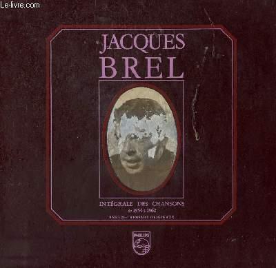 5 DISQUES VINYLE 33T INTEGRAL DES CHANSONS DE 1954 0 1962. LA HAINE / LA BASTILLE / BONNES GENS / PARDON / LES BLES / LA MORT / LA VALSE A MILLE TEMPS / JE T4AIME / NE ME QUITTE PAS / ISABELLE / VIVRE DEBOUT / CLARA / MADELAINE / LES BOURGEOIS / ZANGRA...