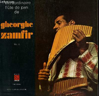 Disque vinyle 33t l extraordinaire flûte de pan folklore roumain ...