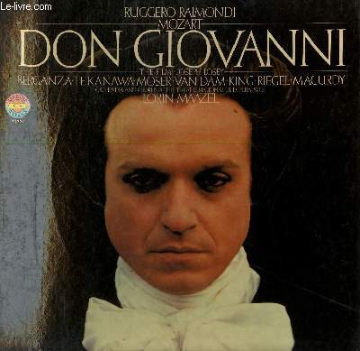 3 DISQUES VINYLE 33T DON GIOVANNI. THE FILM.