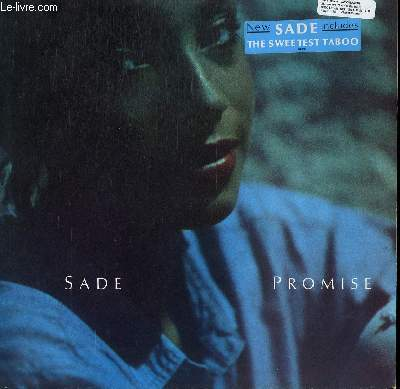 DISQUE VINYLE 33T PROMISE. IS IT A CRIME / THE SWEETEST TABOO / WAR OF THE HEARTS / JEZEBEL / MR WRONG / FEAR...