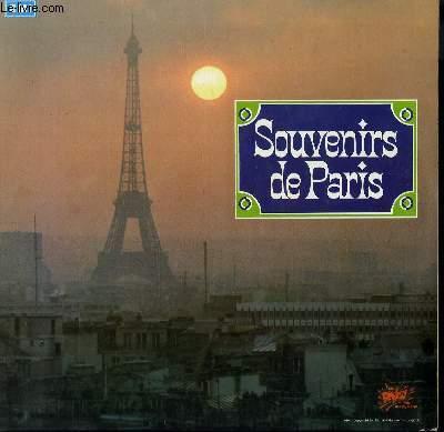2 DISQUES VINYLE 33T SOUVENIRS DE PARIS. SOUS LE CIEL DE PARIS DE PIAF / PIGALLE DE G. ULMER / LA CHANSON DES FORTIFS DE FREHEL / OUI JE SUIS DE PARIS DE MISTINGUETT / A PARIS DE LINE RENAUD / LA SEINE DE TINO ROSSI....