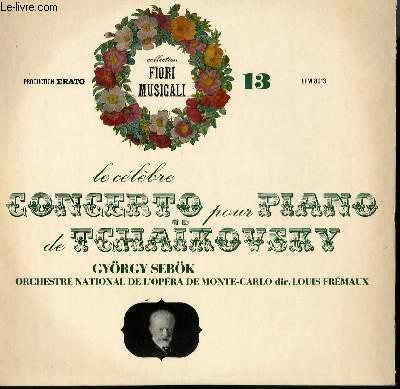 DISQUE VINYLE 33 LE CELEBRE CONCERTO POUR PIANO. PAR L'ORCHESTRE NATIONAL DE L'OPERA DE MONTE CARLO SOUS LA DIRECTION DE LOUIS DREMAUX. AVEC GYORGY SEBOK AU PIANO.