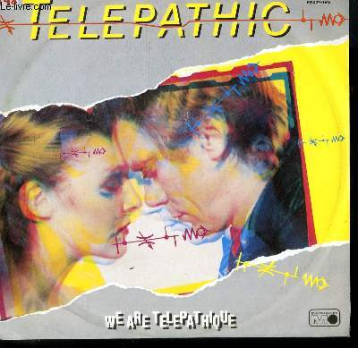 DISQUE VINYLE MAXI 45T WE ARE TELEPATHIC.