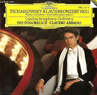 DISQUE VINYLE 33T  KLAVIERKONZERT N°1, CONCERTO POUR PIANO. PAR THE LONDON SYMPHONY ORCHESTRASOUS LA DIRECTION DE CLAUDIO ABBADO AVEC IVO POGORELICH AU PIANO.