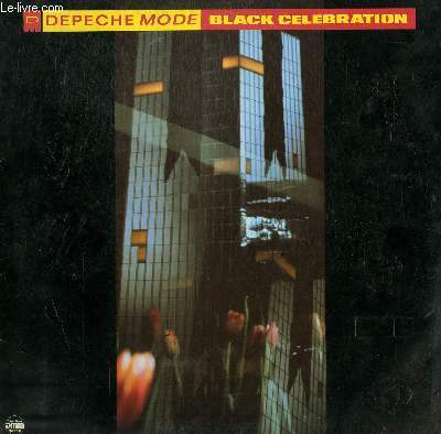DISQUE VINYLE 33T  BLACK CELEBRATION / SOMETIMES / NEW DRESS / STRIPPED / A QUESTION OF LUST /  HERE IS THE HOUSE / DRESSES IN BLACK...