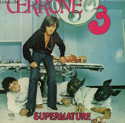 DISQUE VINYLE 33T  SUPERNATURE / SWEET DRUMS / IN THE SMOKE / GIVE ME LOVE / LOVE IS HERE / LOVE IS THE ANSWER.