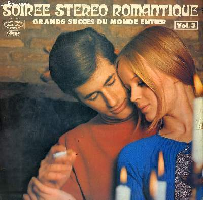 2 DISQUES VINYLE 33T. SOIREE STEREO ROMANTIQUE. GRAND SUCCES DU MONDE ENTIER. STRANGERS IN THE NIGHT / HEY JUDE / AQUARIUS / YESTERDAY / SUNNY / LOVE IS BLUE / A MAN AND A WOMAN / MICHELLE / ZORBA LE GREC / DOWN TOWN / THE SOUND OF SILENCE/MRS ROBINSON...