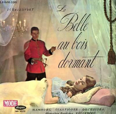DISQUE VINYLE 33T  LA BELLE AU BOIS DORMANT. BALLET, OP 66. PAR LE HAMBOURG STAATSOPER ORCHESTRA SOUS LA DIRECTION DE BRUKNER RUGGEBERG.