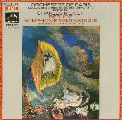 DISQUE VINYLE 33T / SYMPHONIE FANTASTIQUE par L'ORCHESTRE DE PARIS sous la direction de CHARLES MUNCH