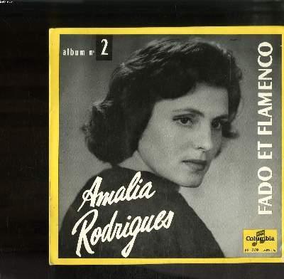 DISQUE VINYLE 33T PETIT FORMAT / FADO ET FLAMENCO ALBUM N°2 / UNA CASA PORTUGUESA / LIBERTACAO-FADO / FADO DE SAUDADE / COIMBRA / TANI / NO ME TIRES INDIRE / DOCE CASCABELES / LERELE