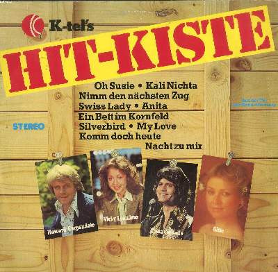 DISQUE VINYLE 33T / HIT-KISTE / SWISS LADY / KALI NICHTA / NIMM DEN NÄCHSTEN ZUG...