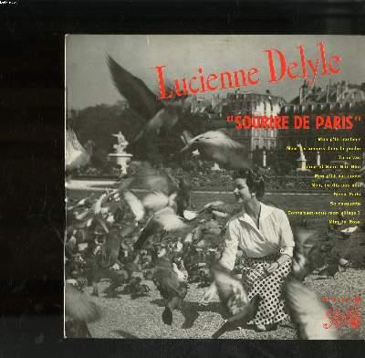 DISQUE VINYLE 33T PETIT FORMAT / SOURIRE DE PARIS / MON P'TIT BONHEUR / METS TES AMOUR DANS TA POCHE / TU M'VAS / AMOUR ET SAINT GLIN-GLIN...