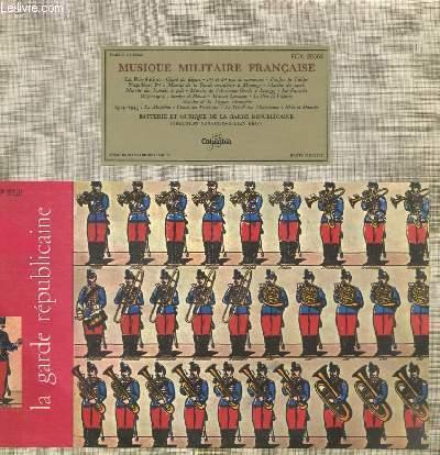 DISQUE VINYLE 33T MUSIQUE MILITAIRE FRANCAISE LA REVOLUTION : CHANT DE DEPART PAS DE MANOEUVRE. NAPOLEON PREMIER : MARCHE DE LA GARDE CONSULAIRE A MARENGO / MARCHE DU SACRE / MARCHES DES BONNETS A POIL. DIRECTION : FRANCOIS-JULIEN BRUN