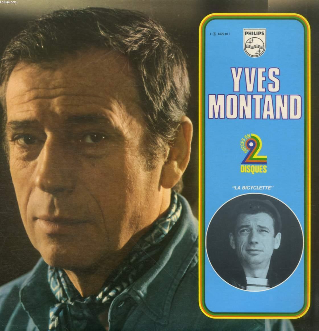2 disques vinyles 33t la bicyclette disque 1 la for Le jardin yves montand