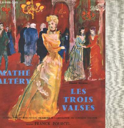 DISQUE VINYLE 33T COLETTE HERENT, MARIO ALTERY, JACQUES PRUVOST, PIERRE GERMAIN, GUY GODIN.