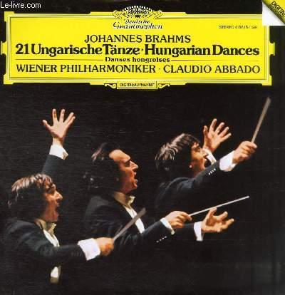 2 DISQUES VINYLES 33T UNGARISCHE TANZE HUNGARIAN DANCES.