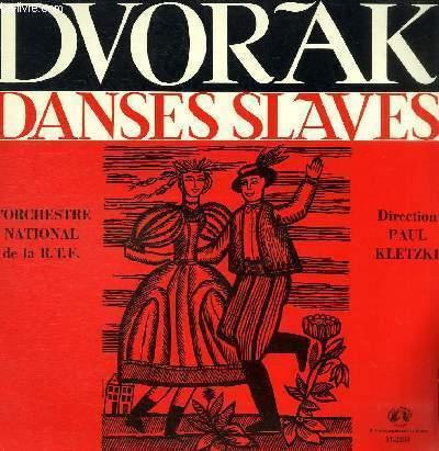 DISQUE VINYLE 33T NEUF DANSES SLAVES.