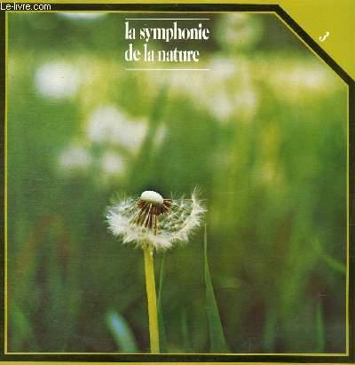 DISQUE VINYLE 33T LA SYMPHONIE DE LA NATURE.