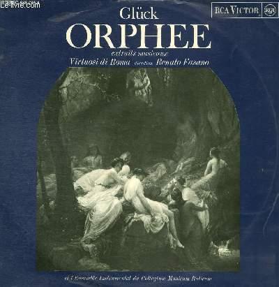 DISQUE VINYLE 33T ORPHEE (EXTRAITS MUSICAUX).