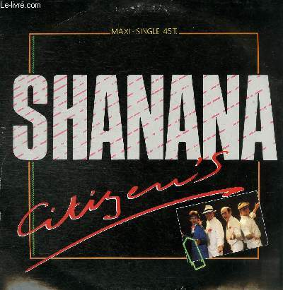DISQUE VINYLE 33T SHANANA, SPEED LIVE VERSION.
