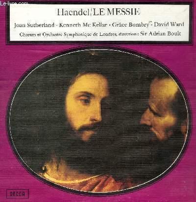 DISQUE VINYLE 33T LE MESSIE.