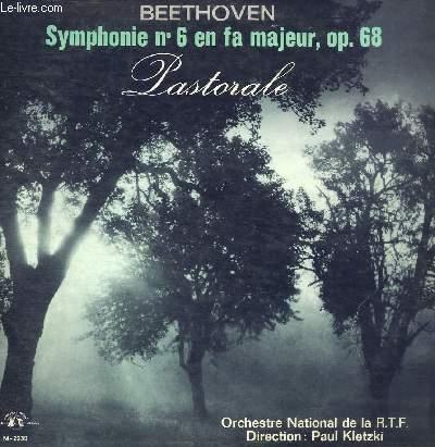 DISQUE VINYLE 33T SYMPHONIE N°6 EN FA MAJEUR, OP.68
