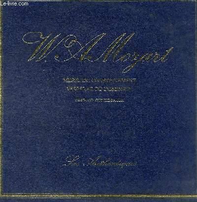 DISQUE VINYLE 33T MESSE DU COURONNEMENT EN UT MAJEUR K.317. VESPERAE DE DOMINICA K.321.