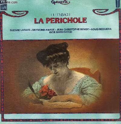 DISQUE VINYLE 33T LA PERICHOLE.