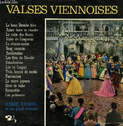 DISQUE VINYLE 33T LE BEU DANUBE BLEU, AIMER BOIRE ET CHANTER, LA VALSE DES FLEURS, LA CHAUVE-SOURIS, SANG VIENNOIS, ACCELERATION, LES FLOTS DU DANUBE, ESTUDIANTINA, L'OR ET L'ARGENT, TROIS HEURES DU MATIN, FASCINATION, LA VEUVE JOYEUSE, REVE DE VALSE...