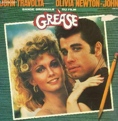 DISQUE VINYLE 33T DISQUE 1: GREASE, SUMMER NIGHTS, HOPEKESSLY DEVOTED TO YOU, BEAUTY SCHOOL DROP-OUT, GREASED LIGHTNIN', ALONE AT THE DRIVE-IN MOVIE, BLUE MOON. DISQUE 2: THOSE MAGIC CHANGES, HOUND DOG, BORN TO HAND JIVE, TEARS ON MY PILLOW, MOONING....